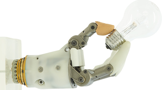 """High Five"" for innovation of a prosthetic hand! Hy5 develops unique prostheses with grip possibilities."