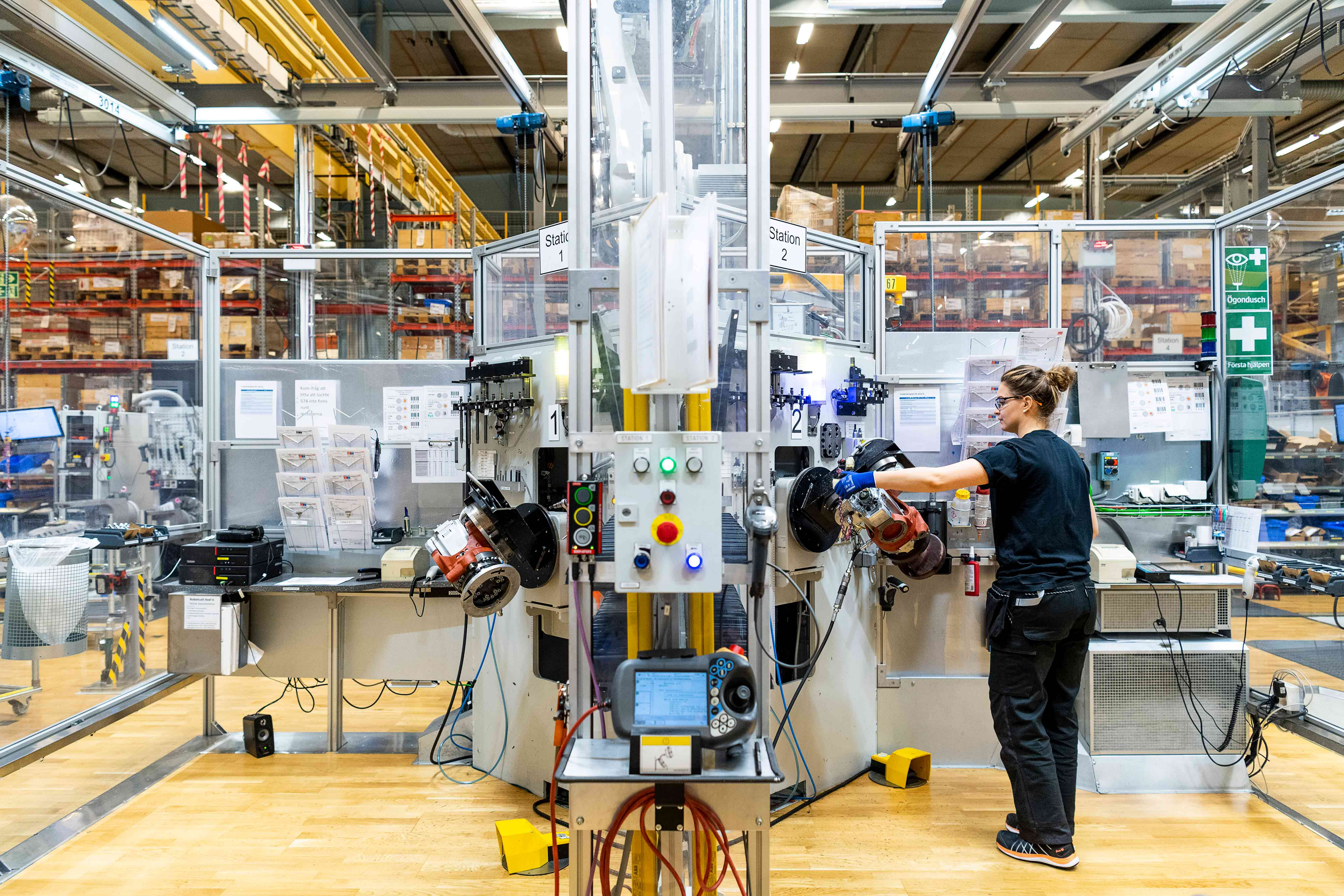 Robot automation at ABB